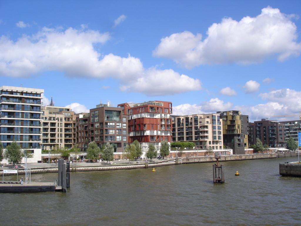 Hamburk HafenCity Dalmannkai promenáda